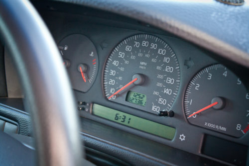 Volvo V70 2.5 Dashboard