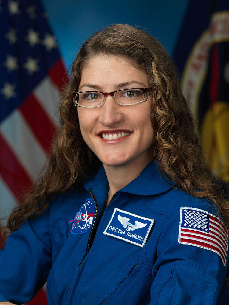 Christina M. Hammock, NASA astronaut candidate class of 2013.
