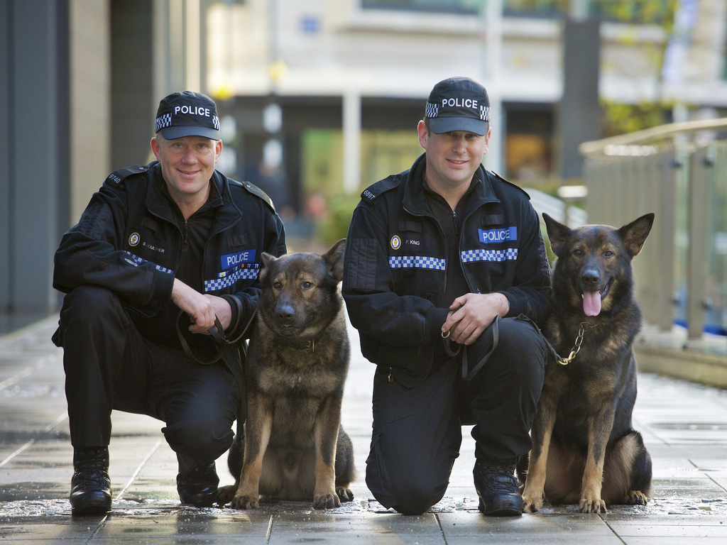 West Midlands Police - Dog handlers receive awards