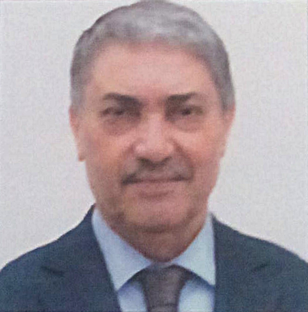 Ari Benflis, who used to be Algeria's Prime Minister