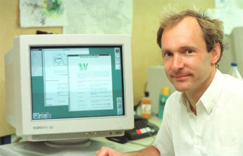 Former physicist Tim Berners-Lee invented the World-Wide Web as an essential tool for High Energy Physics (HEP) at CERN from 1989 to 1994. Together with a small team he conceived HTML, http, URLs, and put up the first server and the first wysiwyg (what you see is what you get) browser and html editor. Tim is now Director of the Web Consortium W3C, the International Web standards body based at INRIA, MIT and Keio University.