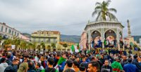 Protest against President Bouteflika of Algeria running for president for the fifth time (Blida)