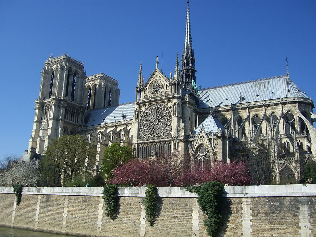 Notre Dame as seen from the Seine