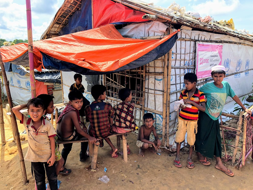 Kids at Rohingya Camps in Cox's Bazar