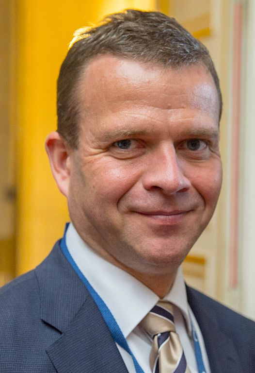 Petteri Orpo, Finland. EPP Summit, Brussels, June 2016