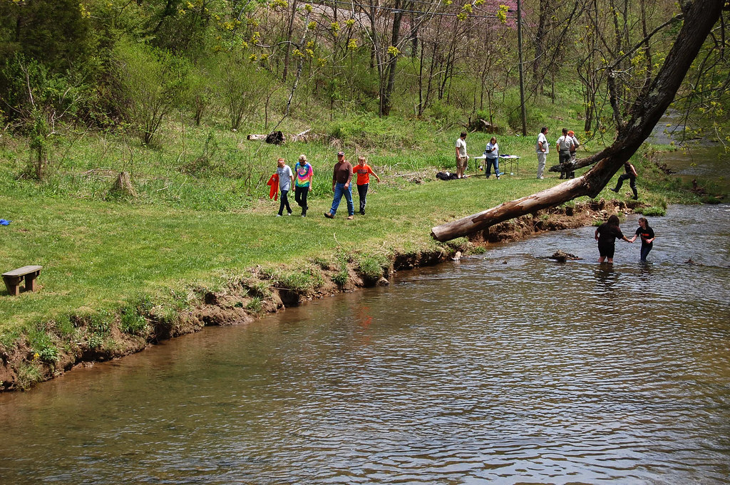 Spring at Natural Tunnel State Park Environmental Education Programs - AA
