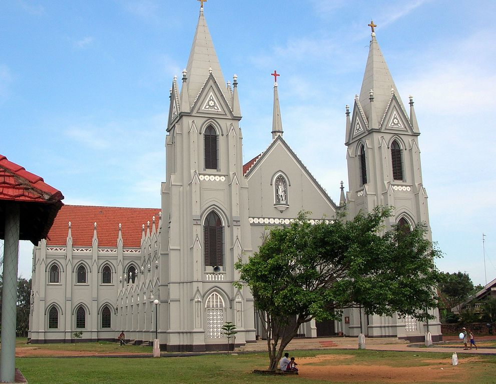 St. Sebastian's Church in Negombo, Sri Lanka