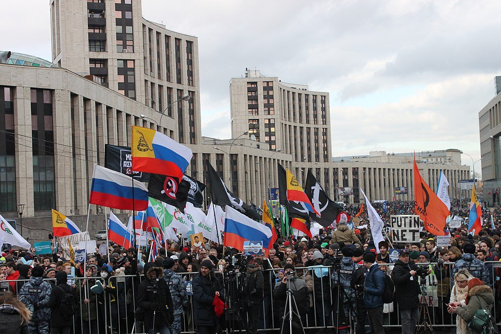Rally against the isolation of Runet (2019-03-10).
