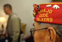 Navajo Code Talkers and their family members met with Chairman of the Joint Chiefs of Staff U.S. Marine Corps Gen. Peter Pace at the Pentagon, Aug. 10, 2007