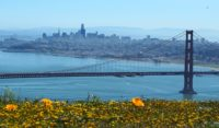San Francisco from the Marin Headlands in March 2019