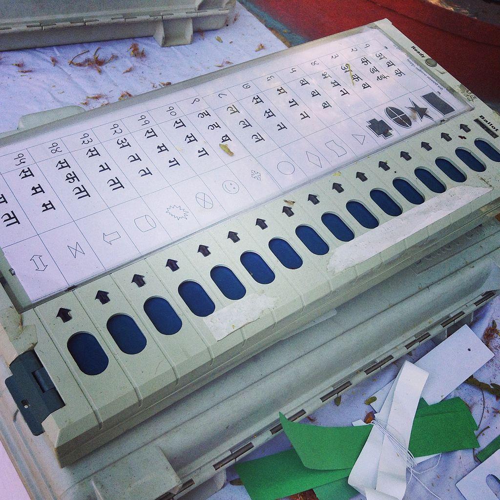 Voting machine in India
