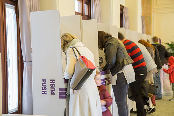Australian federal election, 2016: voting booths