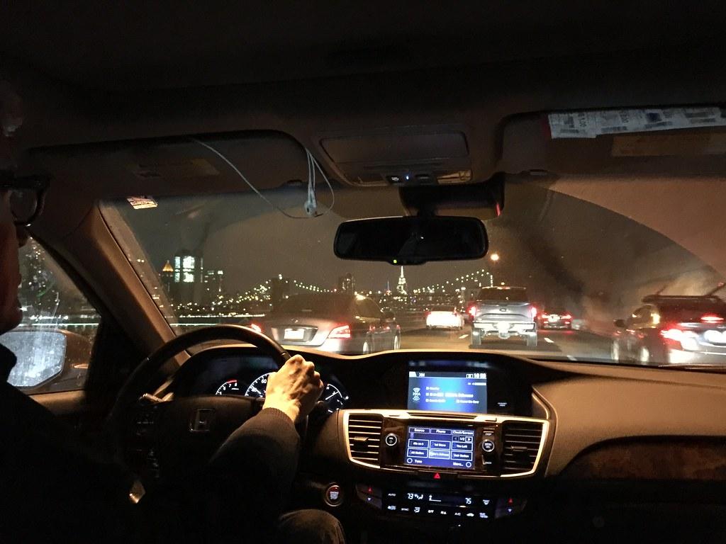 Brooklyn to Manhattan via Uber
