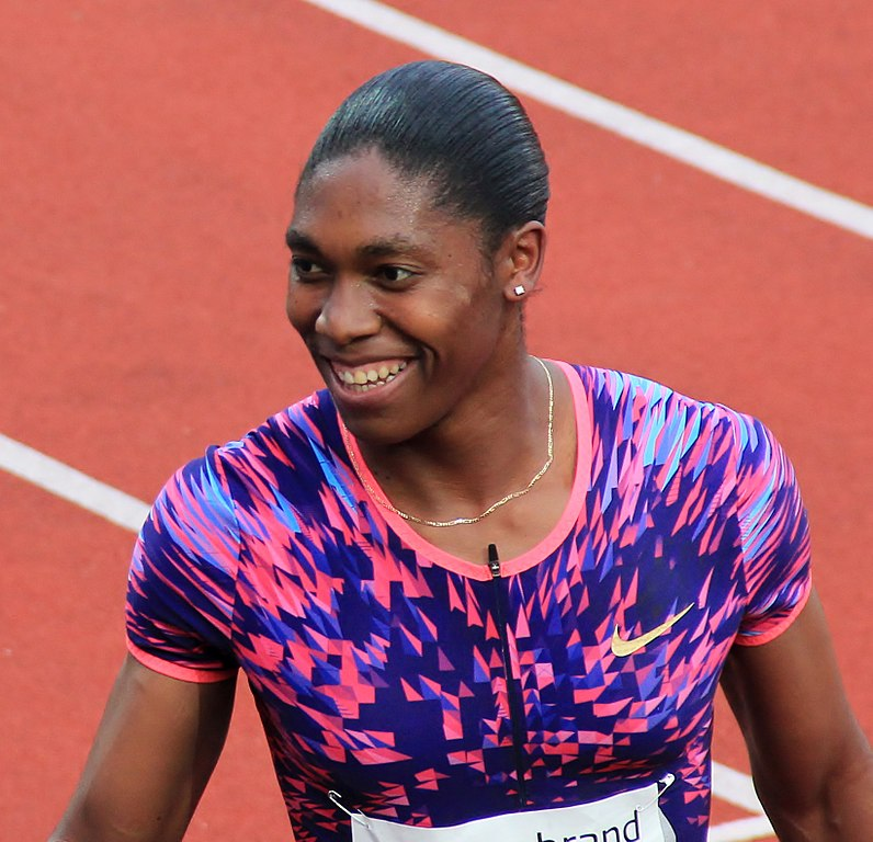 Caster Semenya at the 2017 Bislett Games