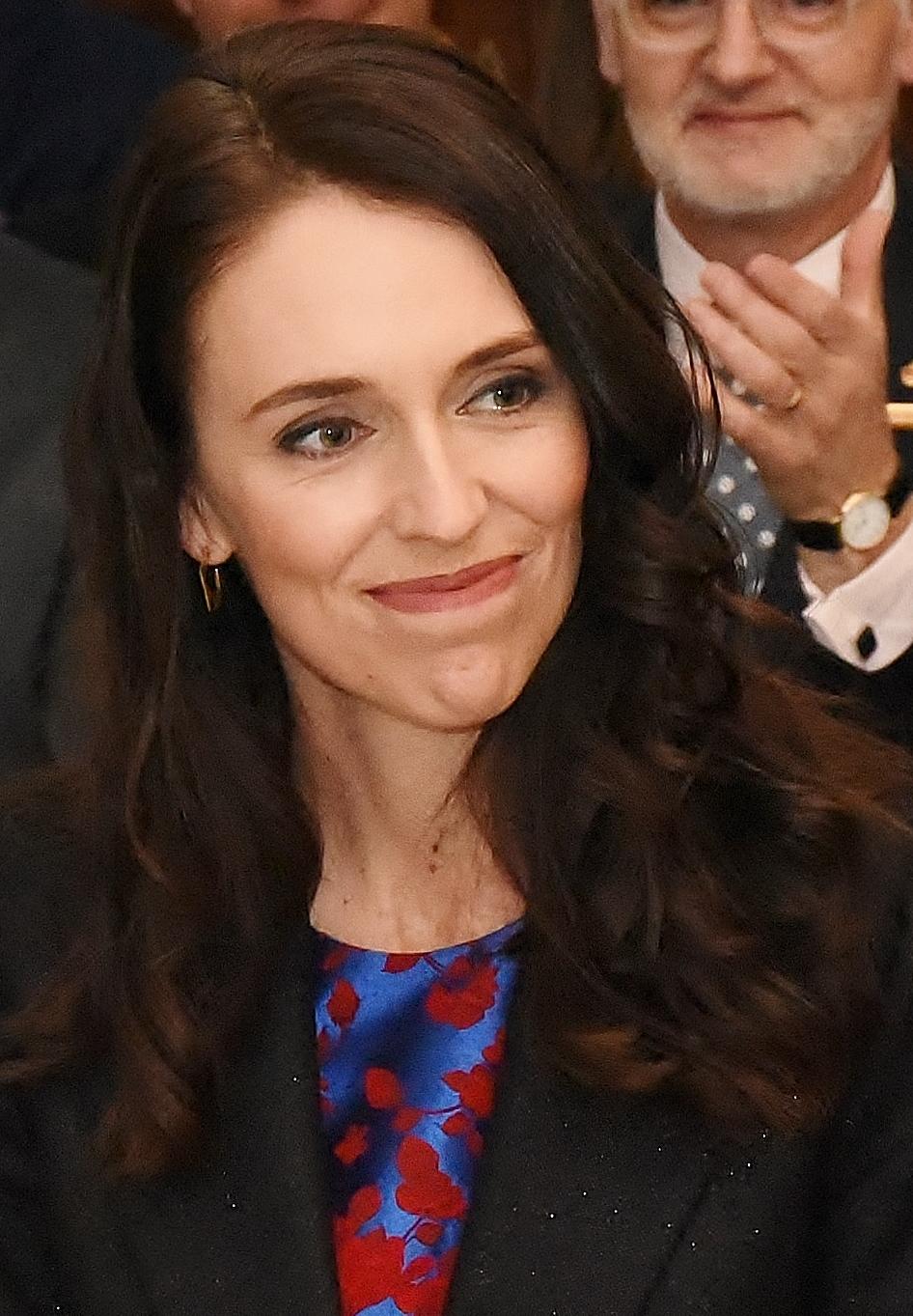 PM-designate Jacinda Ardern before the Swearing-in