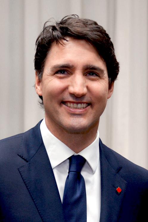 Justin Trudeau in Lima, Peru, 2018