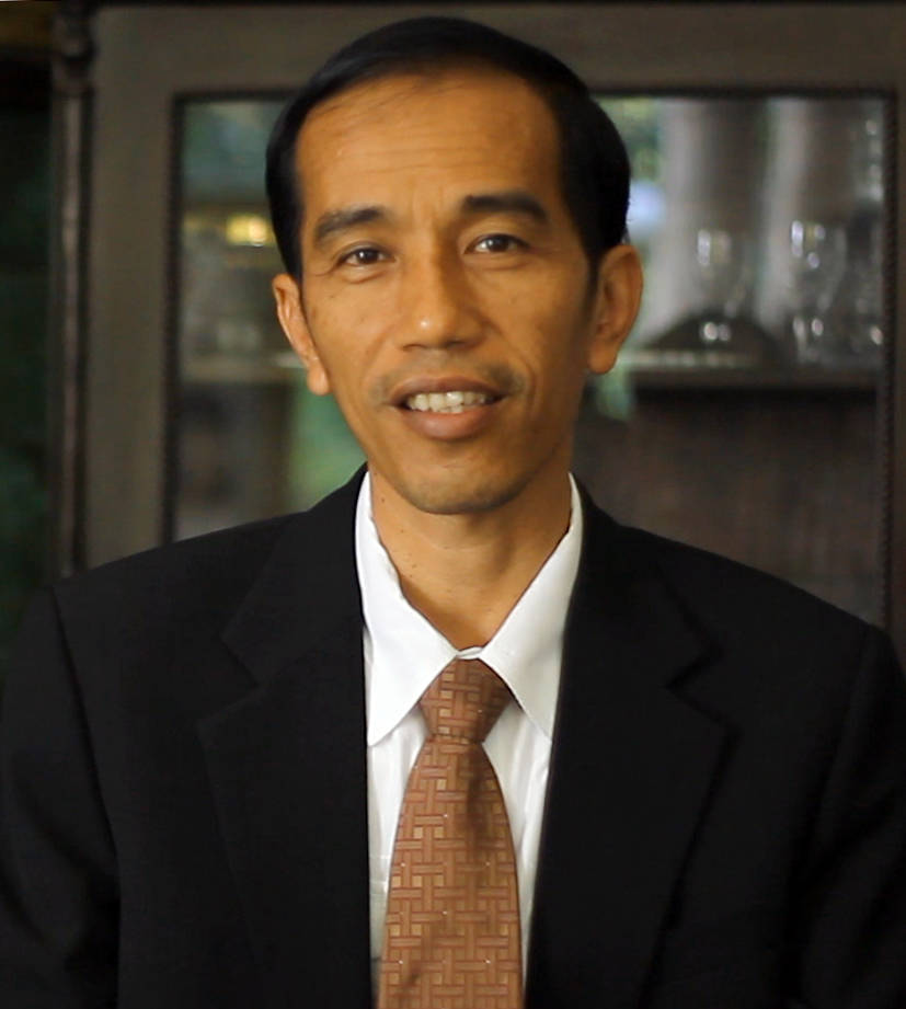 President Joko Widodo from Indonesia