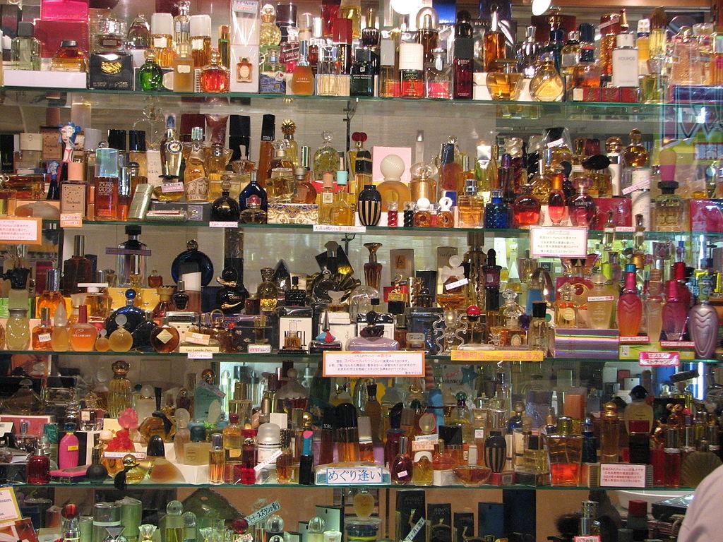 Perfume shop in Japan.