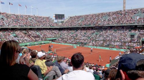 Rafael Nadal (ESP) def. John Isner (USA) Roland Garros 2011 - mardi 24 mai - 1er tour - Court Philippe Chatrier