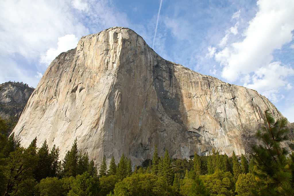 El Capitan — in Yosemite Valley.