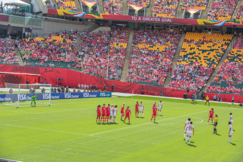 FIFA Women's World Cup Canada 2015 - Edmonton Canada vs China PR