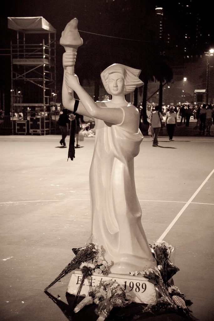 Goddess of Democracy replica in Hong Kong, 2010