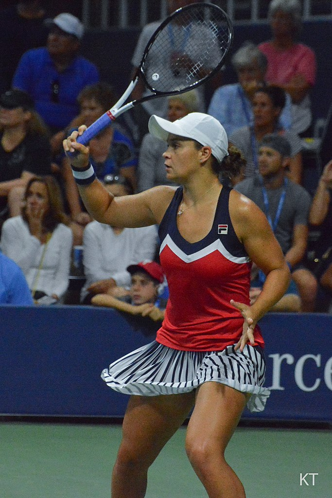 Ash Barty v Karolina Muchova. Day 5 of US Open 2018.