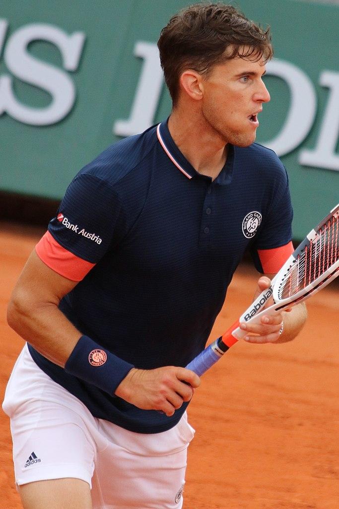 Austrian professional tennis player Dominic Thiem