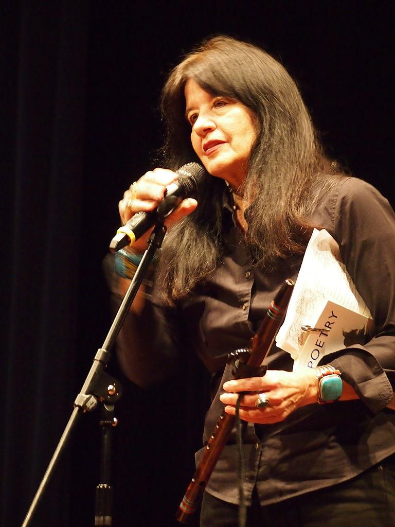 Joy Harjo reading at Split this Rock 2014
