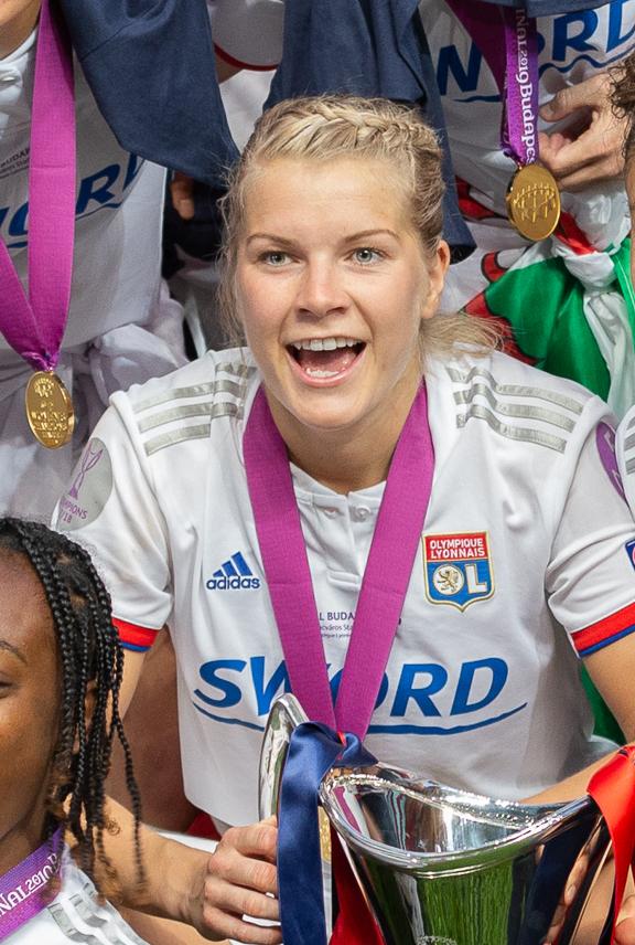 Ada Hegerberg, UEFA Women's Champions League, Olympique Lyonnais - FC Barcelona StP 0141 LR10 by Stepro.