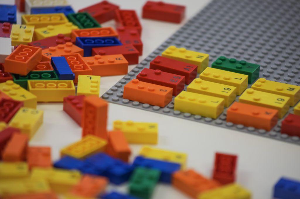 Lego's Braille bricks.