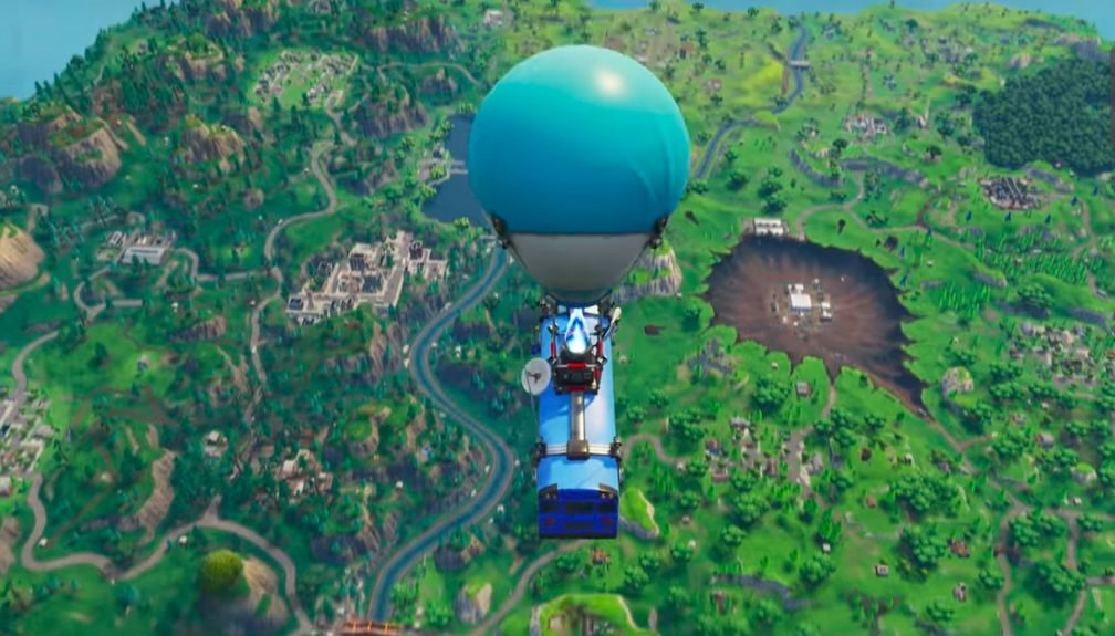 Fortnite's Battle Bus