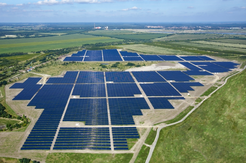 Solarpark Meuro is a 166 megawatt (MW) photovoltaic power station located in Meuro and Schipkau, Germany. The plant was built on a former lignite mine and is the country's largest solar park.
