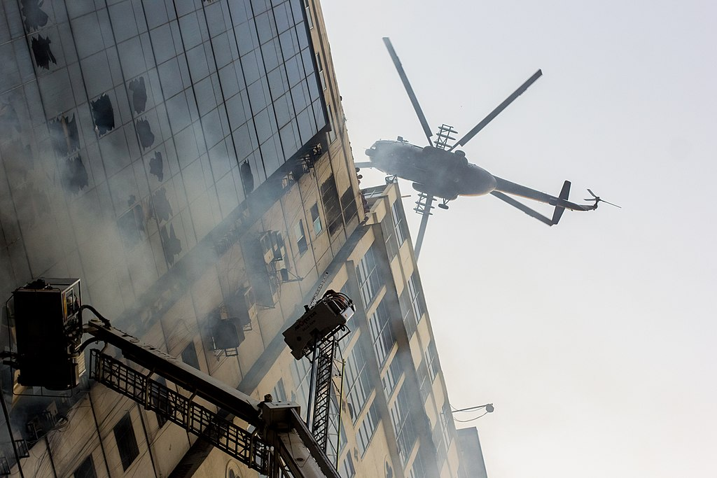 Fire Accident in FR Tower, Banani