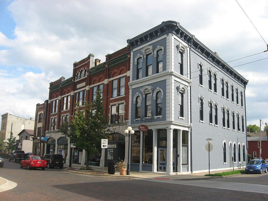 Fifth and Jackson in Oregon Historic District, Dayton