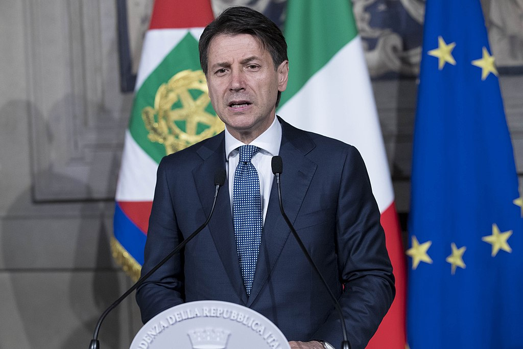 Italy's Prime Minister, Giuseppe Conte.