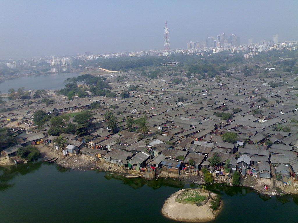Karail slum in Gulshan, Dhaka