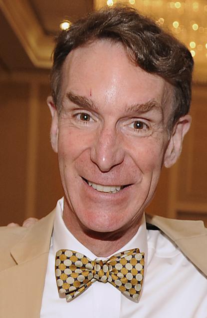ALEXANDRIA, Va. (May 5, 2011) Bill Nye, left, executive director of The Planetary Society, and science educator