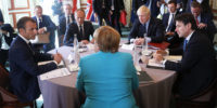 Prime Minister Boris Johnson attended a meeting with other European leaders at G7.