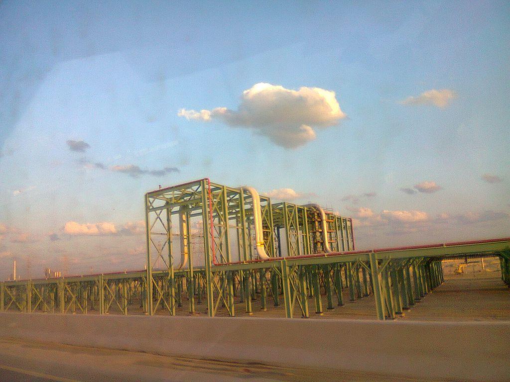 Saudi Aramco oil pipe lines,Jubail