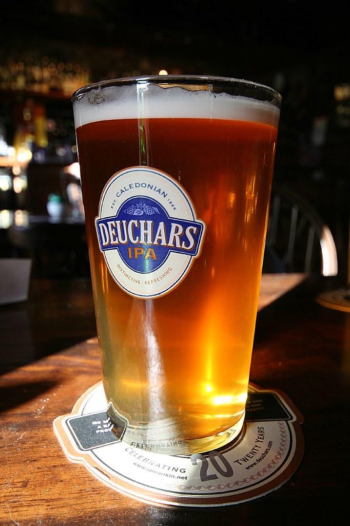 pint of Deuchars IPA