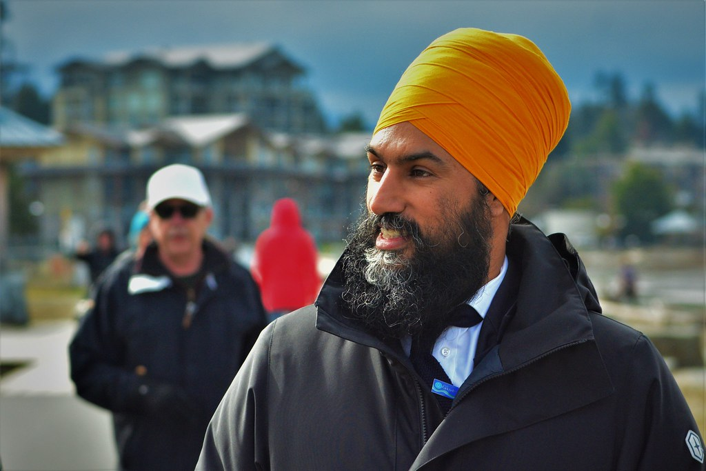 Jagmeet Singh Party leader of New Democratic Party
