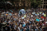 Global Climate Strike in Sydney, Australia on March 15, 2019.