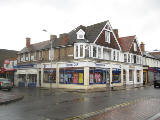 Camberley: Thomas Cook, High Street