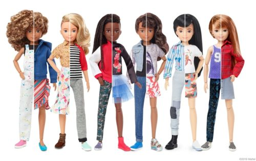 Mattel has created a line of gender-neutral dolls that allow children to express themselves by designing their own doll.