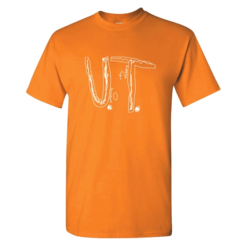 When people at the University of Tennessee heard the story, they created a special t-shirt using the boy's design and started selling it on their website. By Monday, over 16,000 people had ordered the t-shirt.