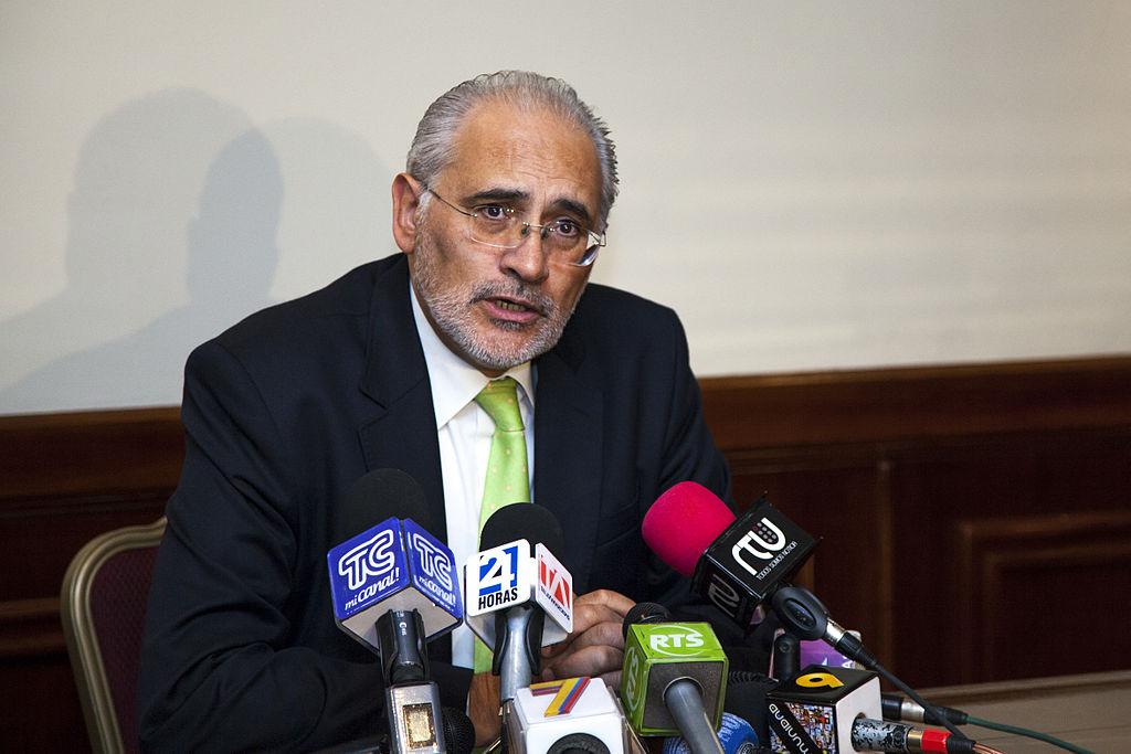 Carlos Mesa, ex-President of Bolivia