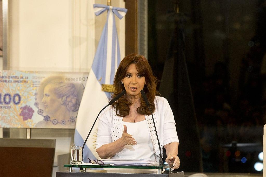 President Cristina Fernández de Kirchner, Buenos Aires, September 15, 2015.