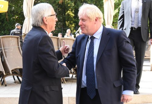 PM Boris Johnson met with EU Commission President Juncker