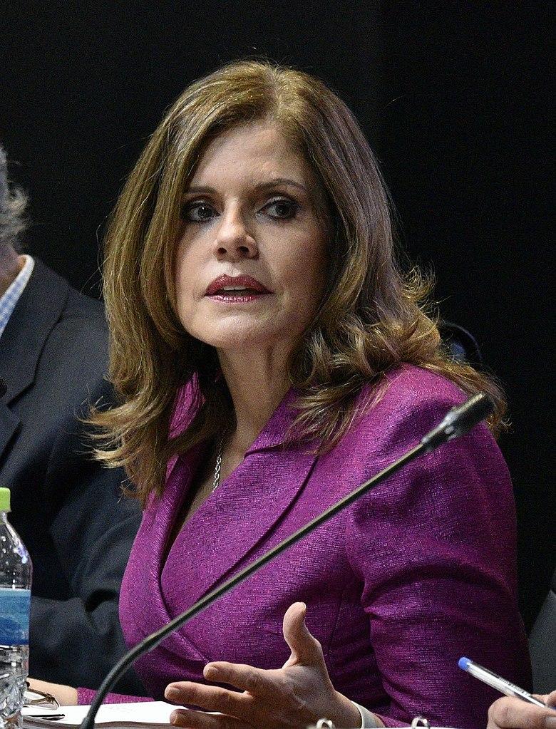 Mercedes Aráoz, segunda vicepresidenta del Perú, desde el 28 de julio de 2016.